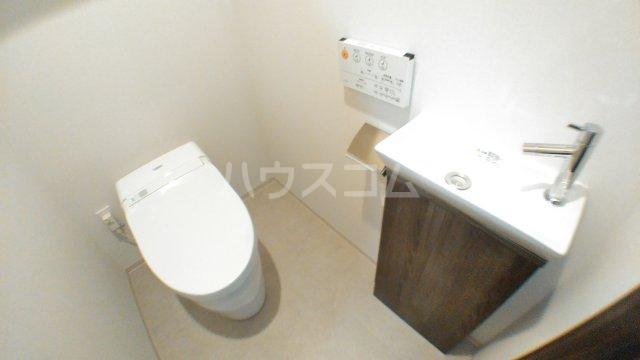 津田沼ザ・タワー 3906号室のトイレ