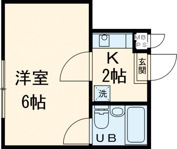 菅田ビル・305号室の間取り