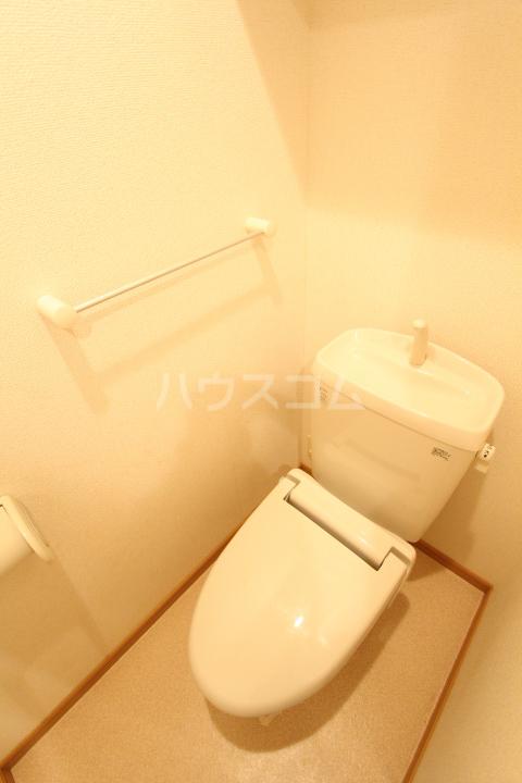 ダイアモンド エフ 01090号室のトイレ