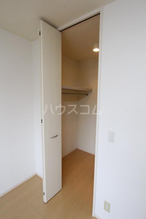 グランシャリオ花本 206号室の収納