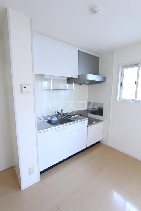 プランドール 101号室のキッチン