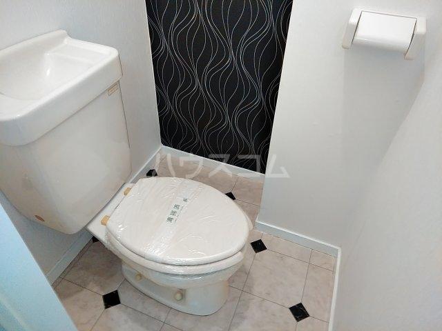 コスモス前原 105号室のトイレ