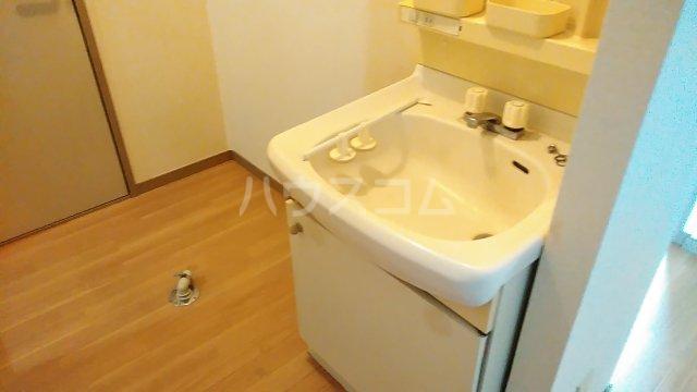 シドニーB 205号室の洗面所