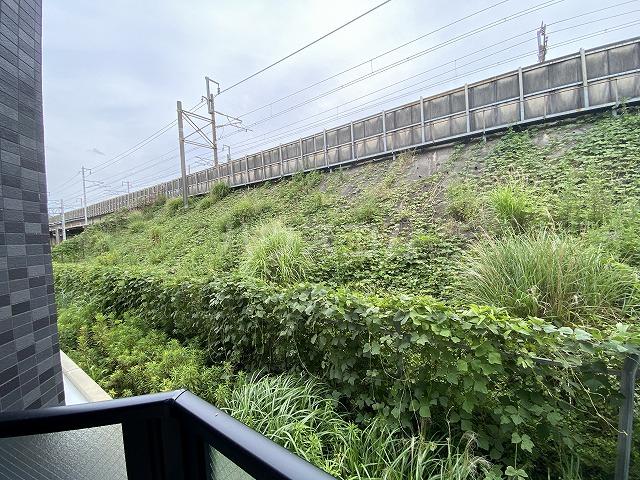 レジデンス幸田駅前 104号室の景色