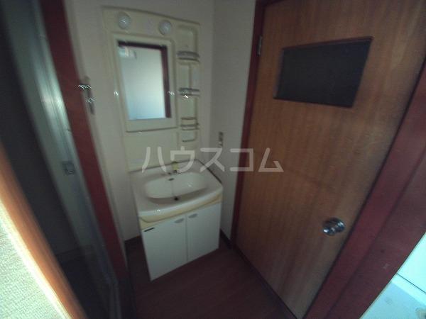 コーポウチダ C号室の洗面所