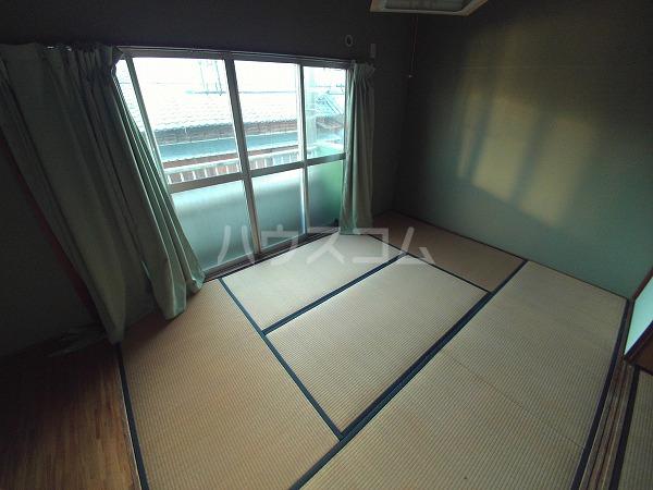 コーポウチダ C号室のベッドルーム