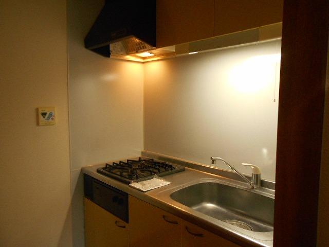 ピュアヒルズ 201号室のキッチン