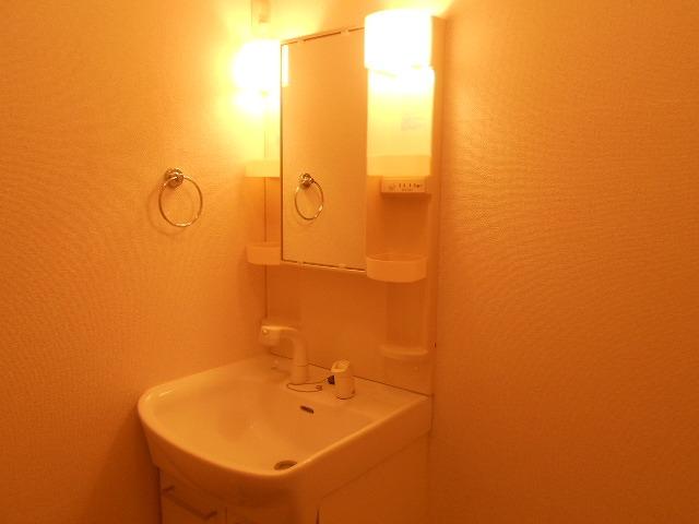 ピュアヒルズ 201号室の洗面所