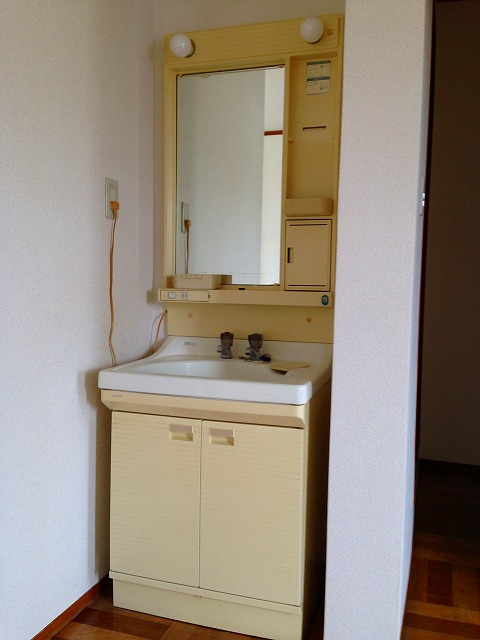 フラットK 203号室の洗面所