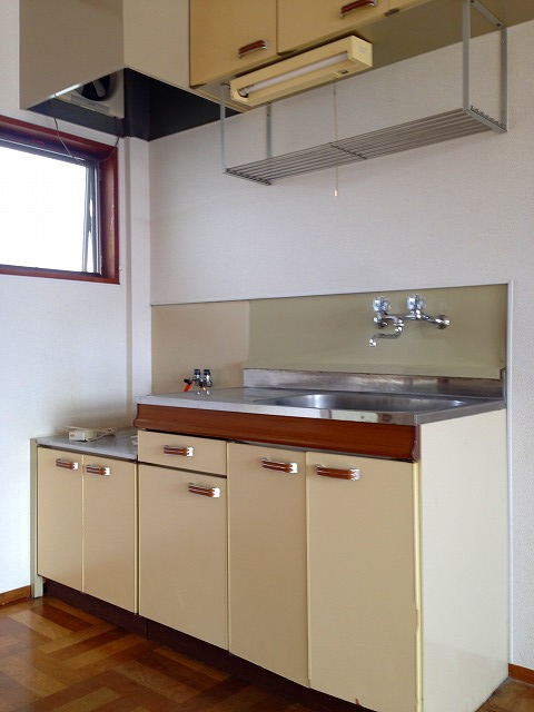 フラットK 203号室のキッチン