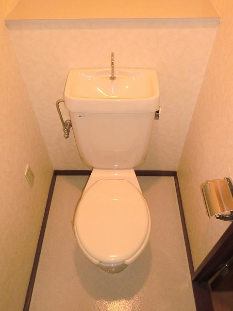 サンシャインシティ 306号室のトイレ