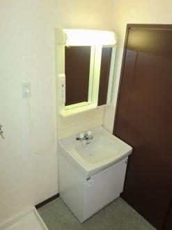 サンシャインシティ 306号室の洗面所