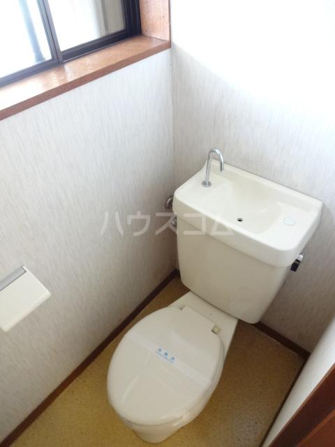 コーポフジ 202号室のトイレ