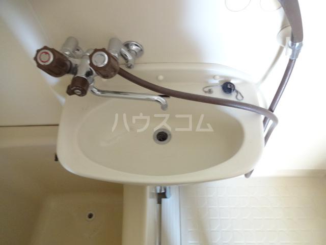 コーポフジ 202号室の洗面所