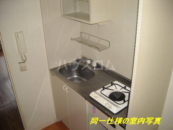 プレイソ大平 201号室のキッチン