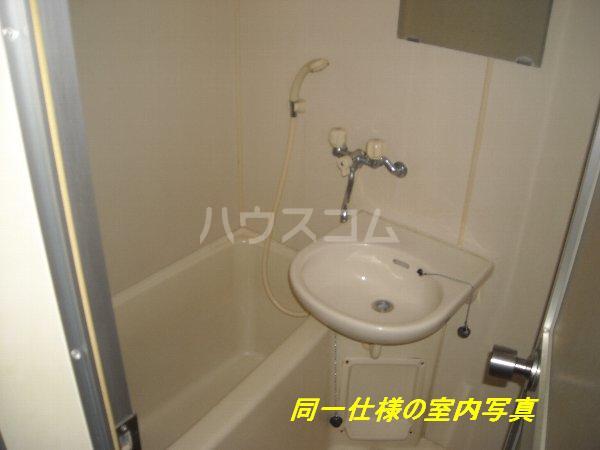 プレイソ大平 201号室の風呂