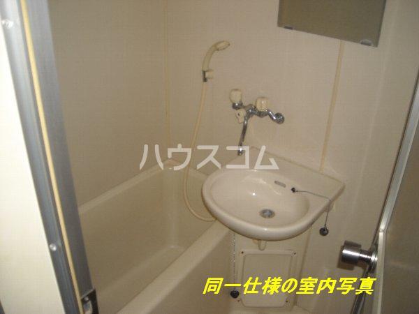 プレイソ大平 201号室の洗面所