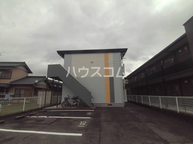 プレイソ大平 201号室の駐車場