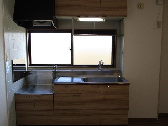 ヴィーナスハイツAB A202号室のキッチン