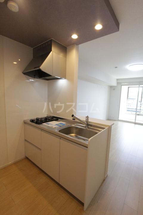 アンソレイユ市木 02020号室のキッチン