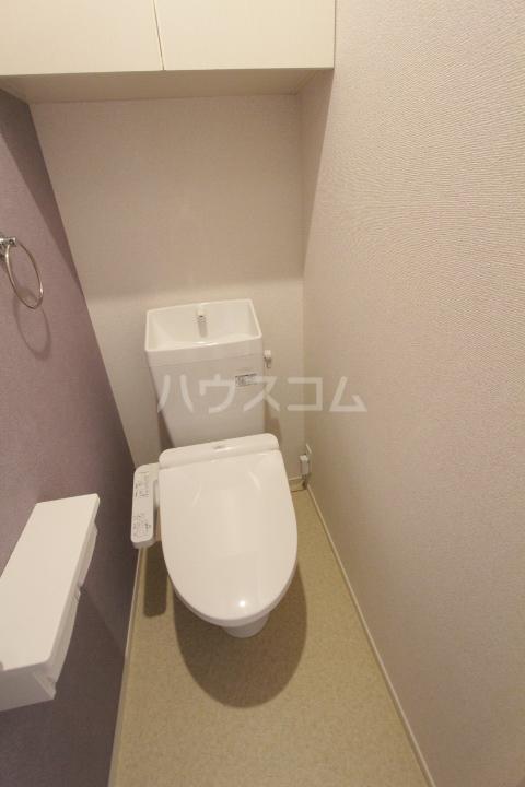 アンソレイユ市木 02020号室のトイレ