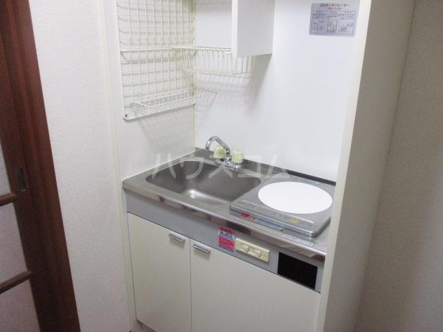 ウイング祖師谷 205号室のキッチン