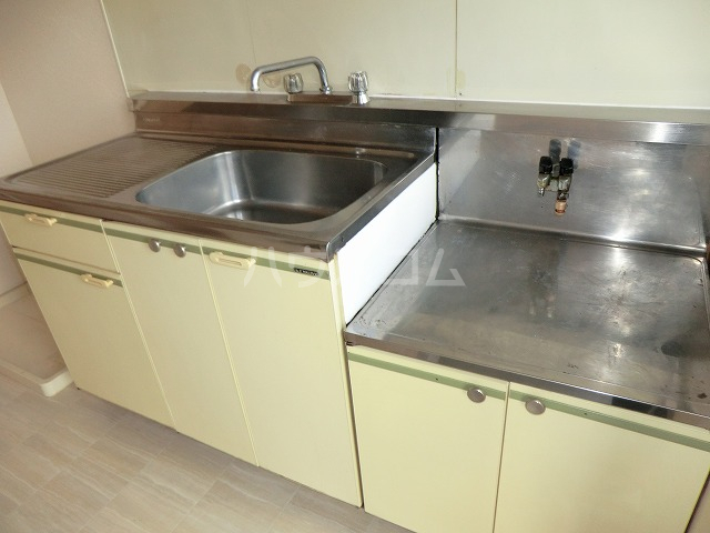 コーポキャロット 201号室のキッチン