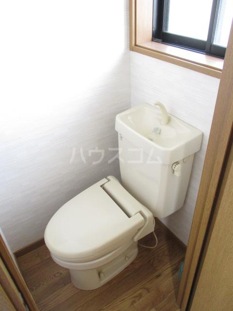 スカイタウン鈴木 101号室のトイレ