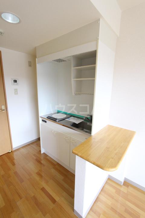 ヴィラ原山 北館 205号室のキッチン