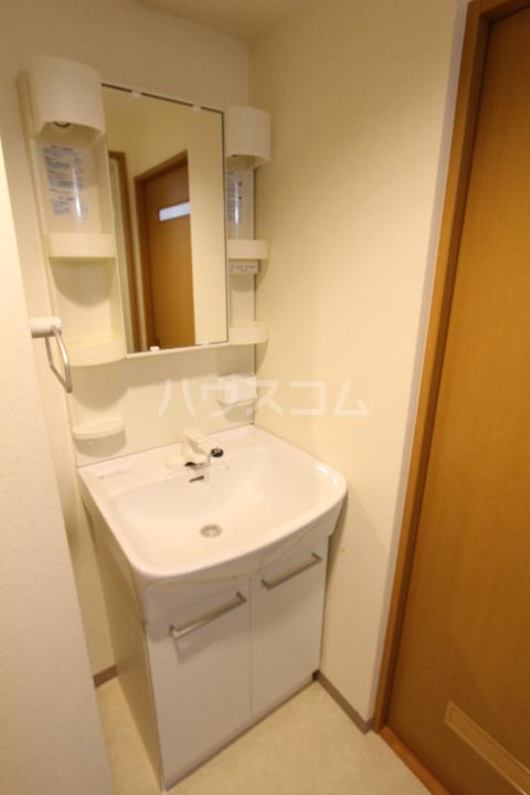 ヴィラ原山 北館 205号室の洗面所