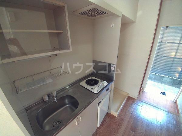 明大寺ハイツ 202号室のキッチン
