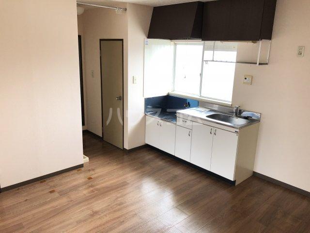 クレストK 202号室のキッチン