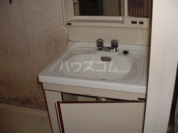 第2マンション鈴木 A-4号室の洗面所