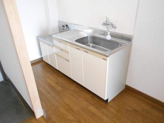 ファミール河上 Ⅰ 103号室のキッチン