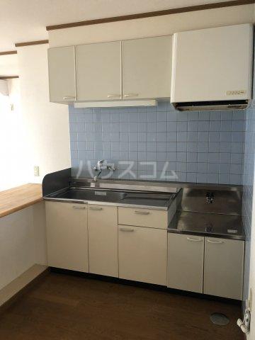 リッチモンドクロス 201号室のキッチン