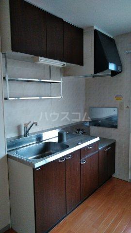 セジュール今斉 B棟 202号室のキッチン