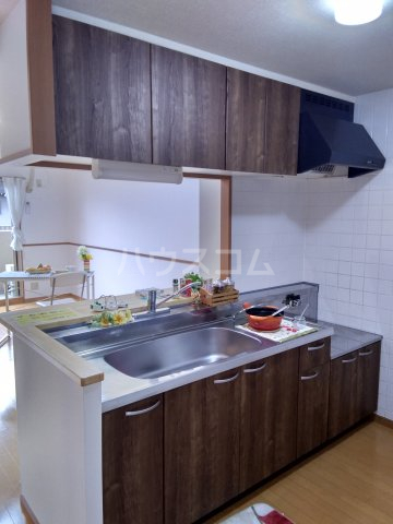 グランシャリオ 101号室のキッチン