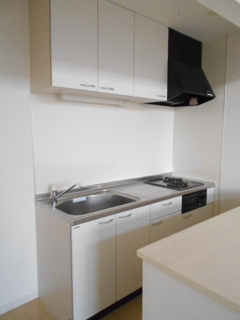 VillaQuattro 102号室のキッチン