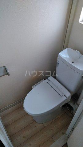 若松団地 1号棟 402号室のトイレ