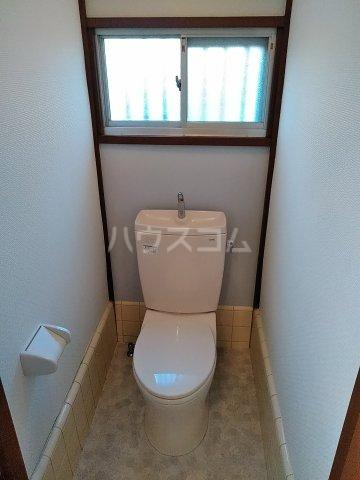 七林町iespa貸家のトイレ