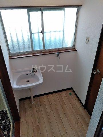 七林町iespa貸家の洗面所