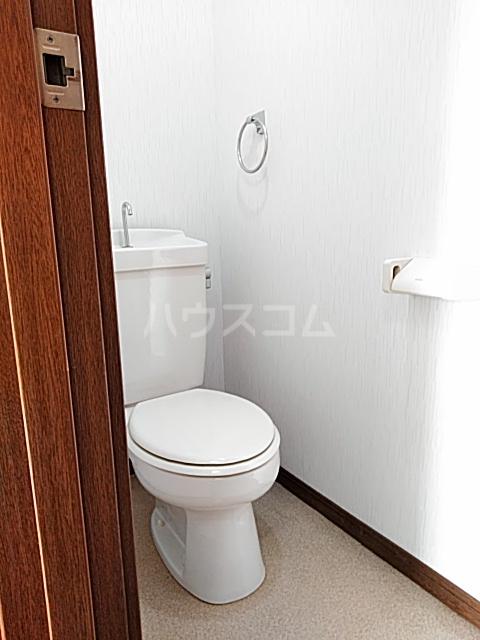 アンダンテ若宮 202号室のトイレ