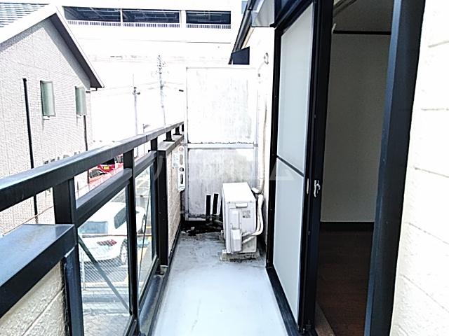 アンダンテ若宮 202号室のバルコニー