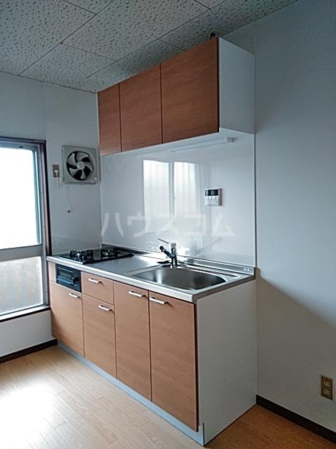 柿の木ハイツ 206号室のキッチン