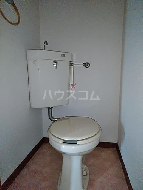 柿の木ハイツ 206号室のトイレ