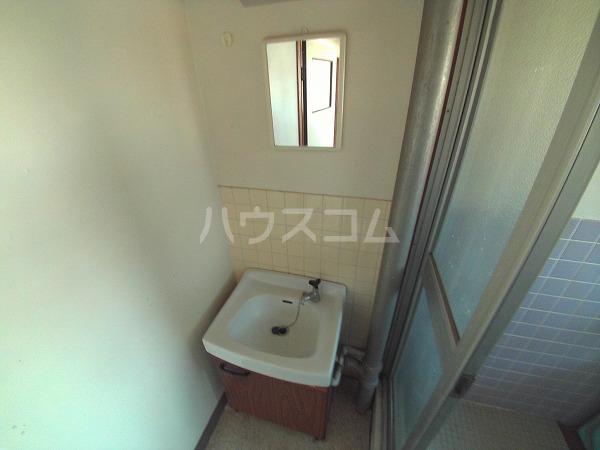 マンションTU 202号室の洗面所