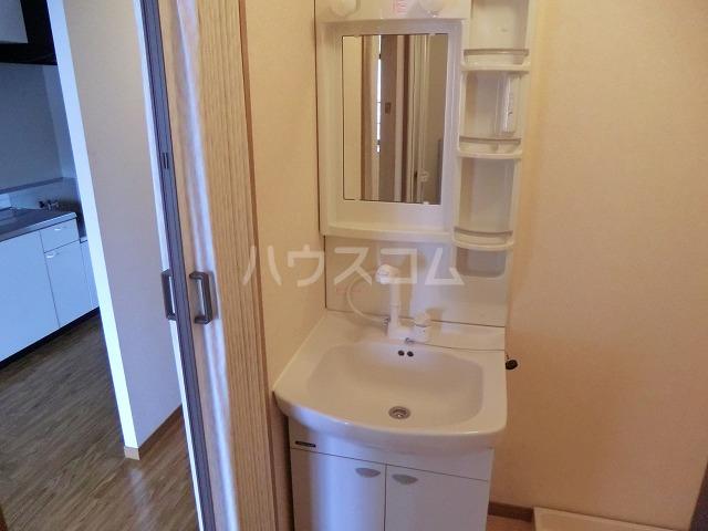 ピュアビル 4-B号室の洗面所