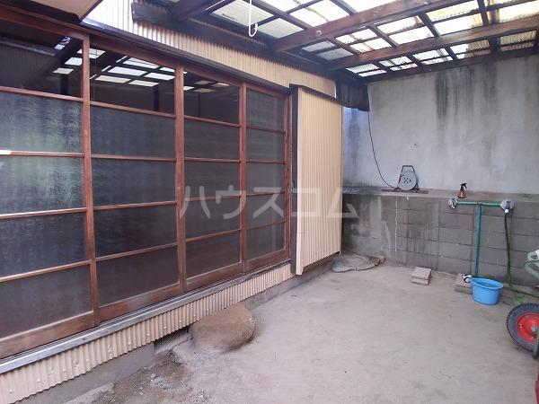 梅園町貸家Ⅰ 1号室のバルコニー