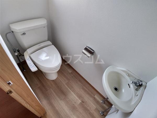 梅園町貸家Ⅰ 1号室の洗面所