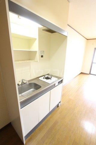 ラルーチェ若宮 203号室のキッチン